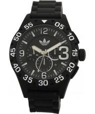 Adidas ADH2859 Mens Newburgh Black Rubber Strap Chronograph Watch