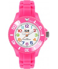 Ice-Watch MN.PK.M.S.12 Ice-Mini Pink Silicone Strap Watch
