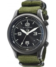 Elliot Brown 202-004-N01 Mens Canford Green Fabric Strap Watch