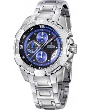 Festina F16358-2 Mens Silver Steel Bracelet Chronograph Watch