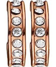 Dyrberg Kern 333204 Ladies Desolo Rose Gold Plated Earrings