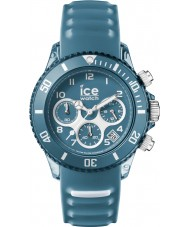 Ice-Watch AQ.CH.BST.U.S.15 Ice-Aqua Bluestone Blue Silicone Strap Chronograph Watch