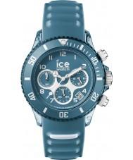 Ice-Watch AQ.CH.BST.U.S.15 Ice-Aqua Bluestone Blue Silicone Strap Chronograph Watch