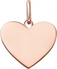 Thomas Sabo LBPE0002-415-12 Ladies Love Bridge 18ct Rose Gold Plated Pendant