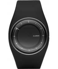 Philippe Starck PH5036 Black Dial And Pu Strap Watch.