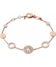 Fossil Ladies Vintage Glitz Rose Gold Bracelet