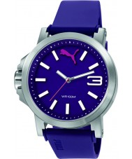 Puma PU103462011 Ultrasize 45 Purple Plastic Strap Watch