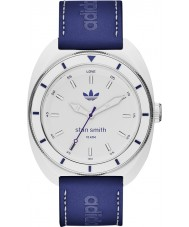 Adidas ADH9087 Mens Stan Smith Matte Blue Mixed Strap Watch Watch