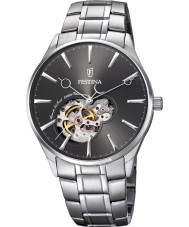 Festina F6847-2 Mens Automatic Silver Steel Bracelet Watch