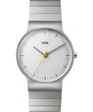 Braun BN0211SLBTG Mens Classic Slim Silver Steel Bracelet Watch