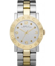 Marc Jacobs MBM3139 Ladies Amy Silver Gold Watch