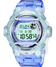 Casio BG-169R-6ER Ladies Baby-G Telememo 25 Blue Digital Watch