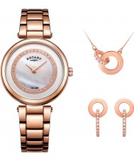 Rotary LB00662-41-SET Ladies Watch and Jewellery Gift Set