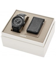 Fossil BQ2339SET Mens Editor Watch and Wallet Gift Set