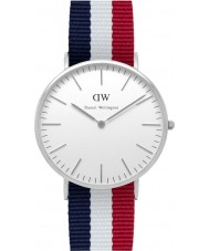 Daniel Wellington DW00100017 Mens Classic 40mm Cambridge Silver Watch
