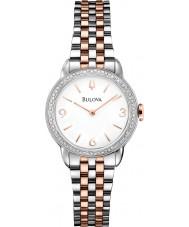 Bulova 98R182 Ladies Two Tone Steel Bracelet Watch