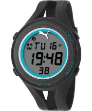Puma PU911171001 Air III Black Silicone Strap Chronograph Watch