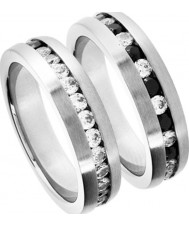 Inspirit ISR080-S Mens Stainless Steel Ring - Size S