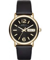 Marc Jacobs MBM1388 Ladies Fergus Black Leather Strap Watch
