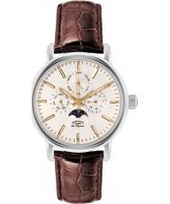 Rotary GS90135-32 Mens Les Originales Greenwich Steel Brown Watch