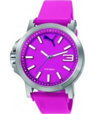 Puma PU103462012 Ultrasize 45 Pink Plastic Strap Watch