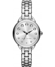 Marc Jacobs MJ3497 Ladies Betty Silver Steel Bracelet Watch