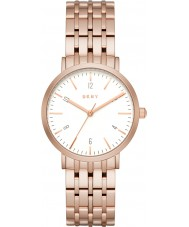 DKNY NY2504 Ladies Minetta Rose Gold Plated Bracelet Watch