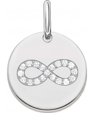 Thomas Sabo LBPE0004-051-14 Ladies Love Bridge 925 Sterling Silver Pendant