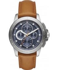 Michael Kors MK8518 Mens Ryker Brown Chronograph Watch