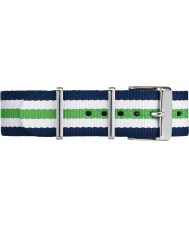 Timex TW7C07000 Weekender Fairfield Multicolour Nylon Strap