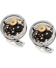 Thomas Earnshaw ES-002-C1 Mens Gear Steel Cufflinks