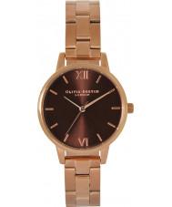 Olivia Burton OB16BL36 Ladies Chocolate Dial Watch