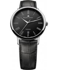 Maurice Lacroix LC6067-SS001-310 Mens Les Classiques Tradition Automatic Black and Steel Watch