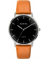 Kartel Lewis Honey Brown Leather Strap Watch