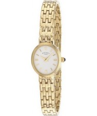 Rotary LB02084-02 Ladies Timepieces White Gold Plated Watch