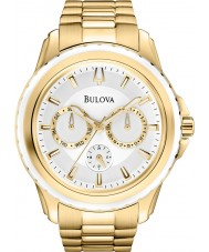 Bulova 97N103 Mens Marine Star Gold Chronograph Watch