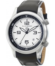 Elliot Brown 202-005-L02 Mens Canford Black Leather Strap Watch