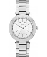 DKNY NY2285 Ladies Stanhope Silver Steel Bracelet Watch