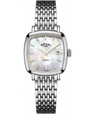 Rotary LB05305-07 Ladies Timepieces Windsor Silver Tone Steel Watch