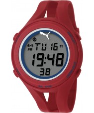 Puma PU911171002 Air III Red Silicone Strap Chronograph Watch