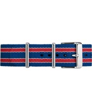 Timex TW7C07100 Weekender Fairfield Multicolour Nylon Strap
