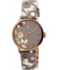 Radley RY2068 Ladies Marsupial Circus Print Leather Strap Watch