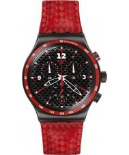 Swatch YVM401 Irony Chrono Rosso Fuocco Watch