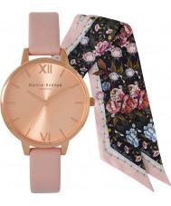Olivia Burton OB16GSET23 Ladies Sunray Watch and Scarf Gift Set