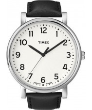 Timex Originals T2N338 Mens White Black Classic Round Watch