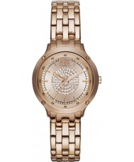 Armani Exchange AX5416 Ladies Rose Gold Plated Bracelet Dress Watch