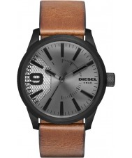 Diesel DZ1764 Mens RASP Light Brown Leather Strap Watch