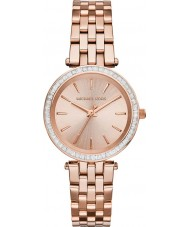 Michael Kors MK3366 Ladies Darci Rose Gold Plated Watch