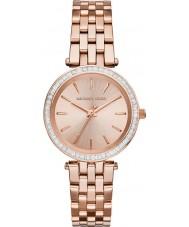 Michael Kors MK3366 Ladies Mini Darci Rose Gold Plated Watch