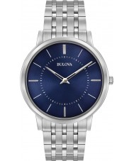 Bulova 96A188 Mens Ultra Slim Silver Steel Bracelet Watch